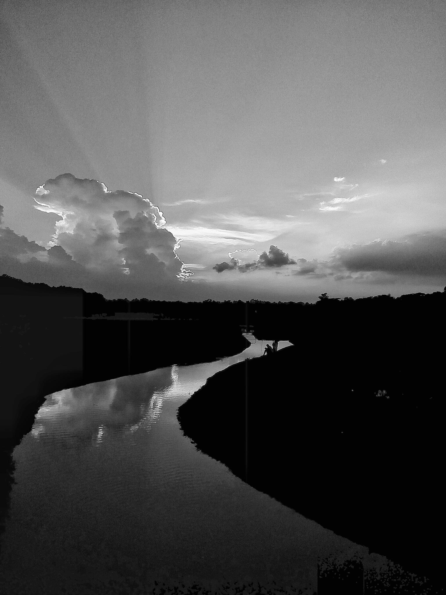 Colorless Sunset  by Fariha Jannat Mim