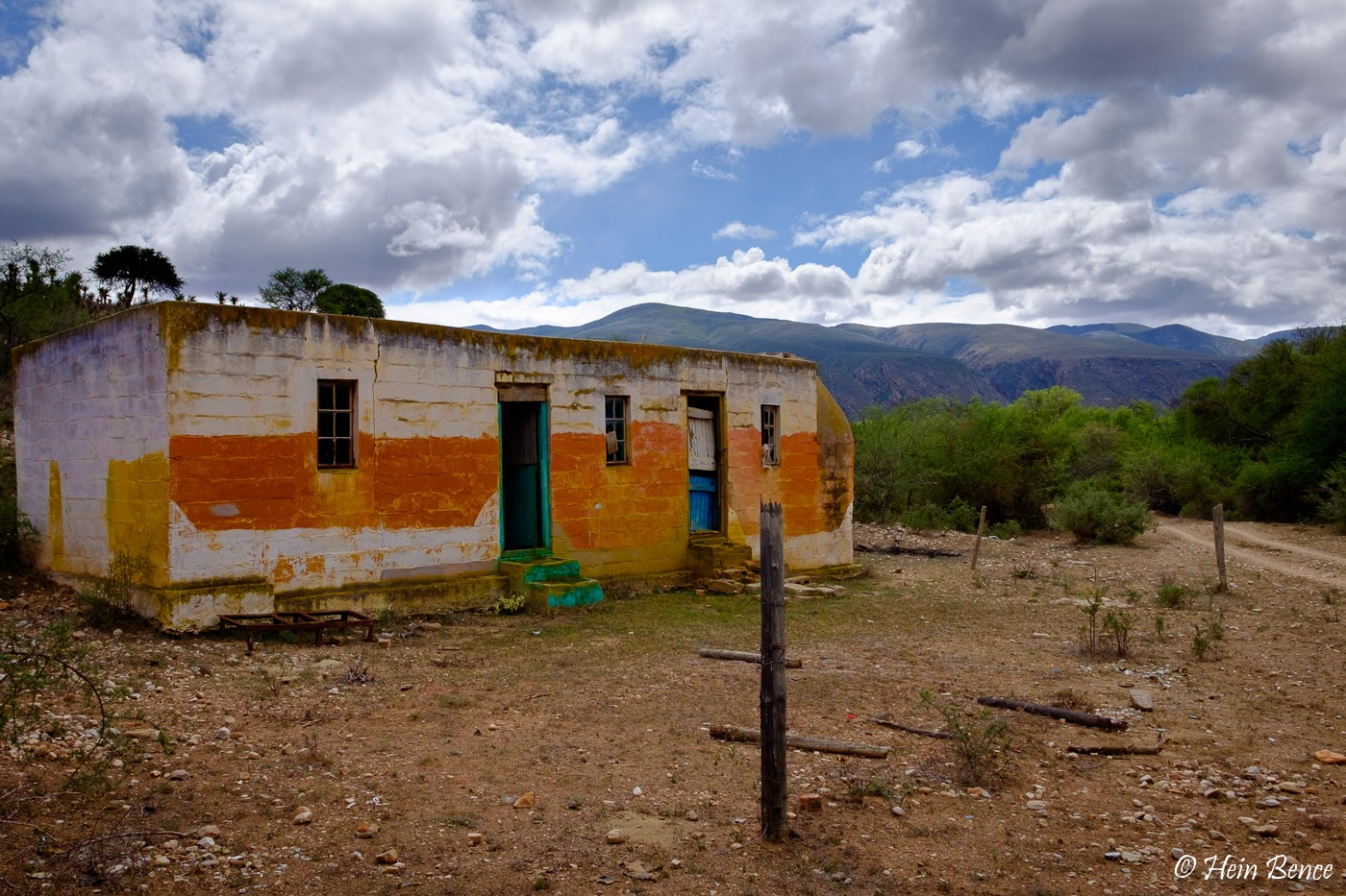 Old farmworkers house by Hein Bence