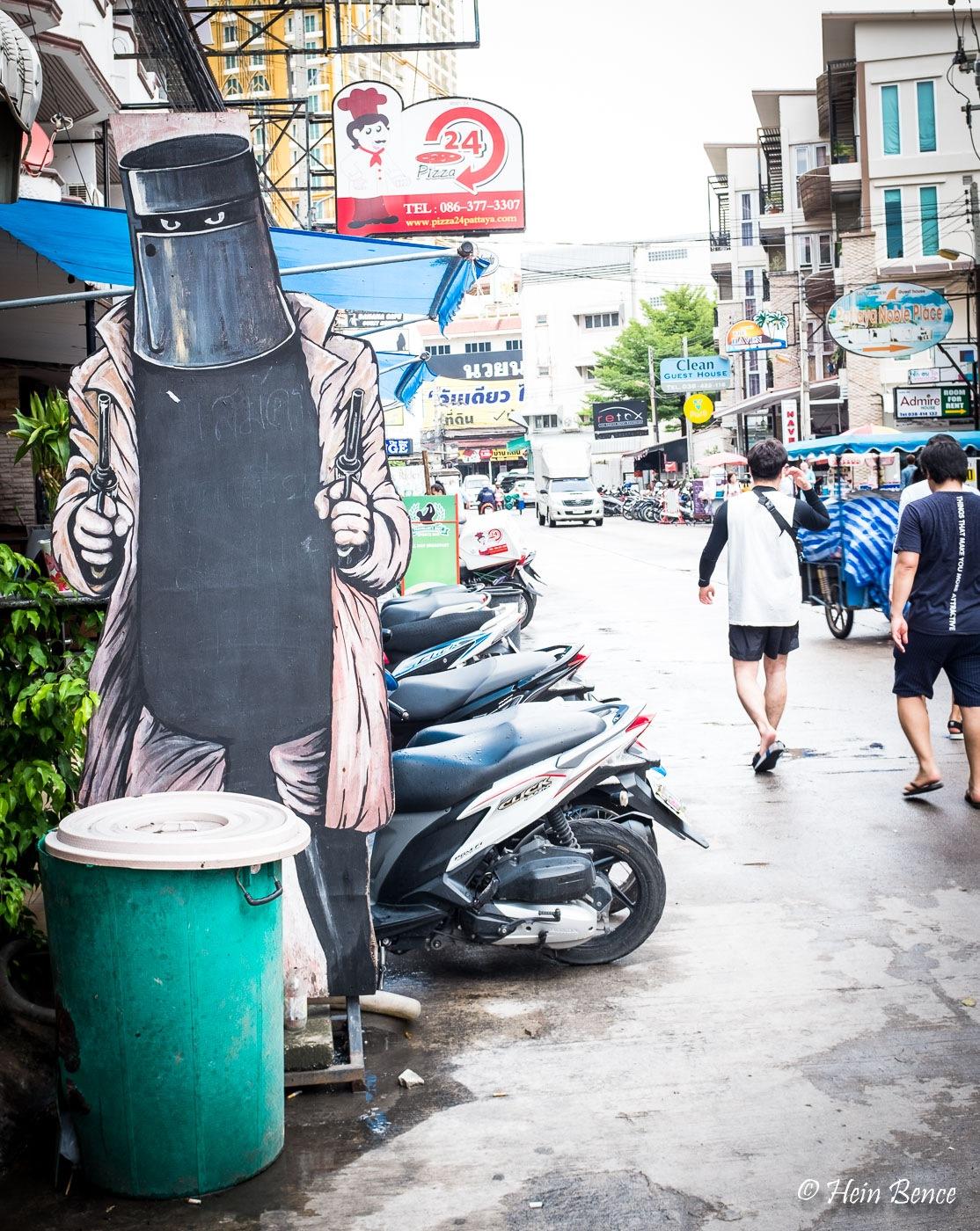 Booo i am the trashcan man. by HB Photo