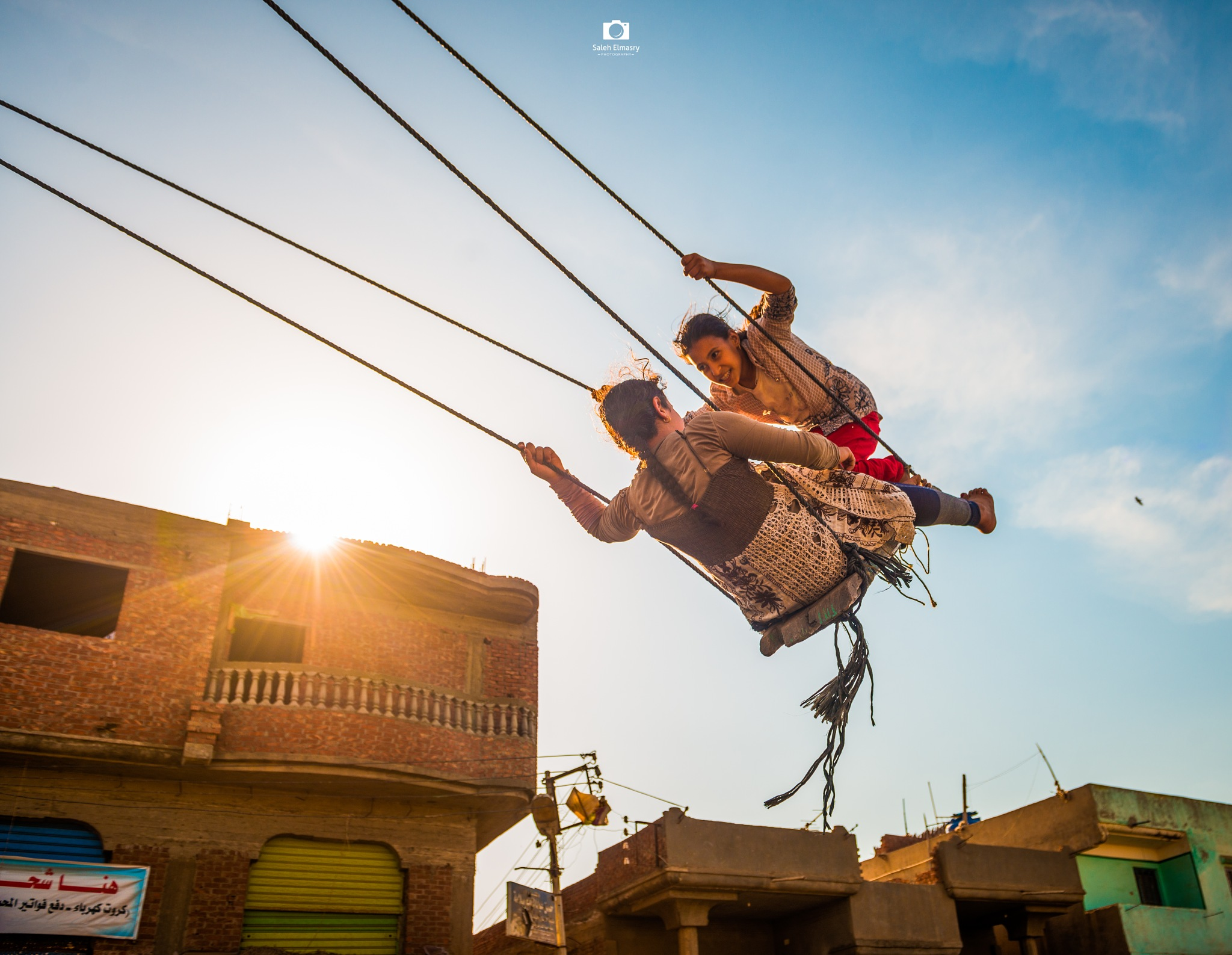 High happiness by Saleh Almasry