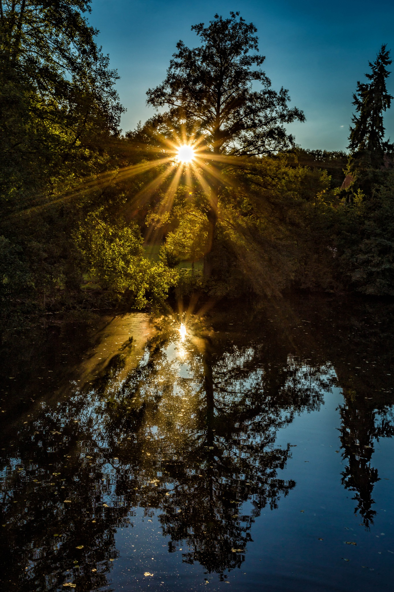 Sunset in Frankonia by Arne Marenda