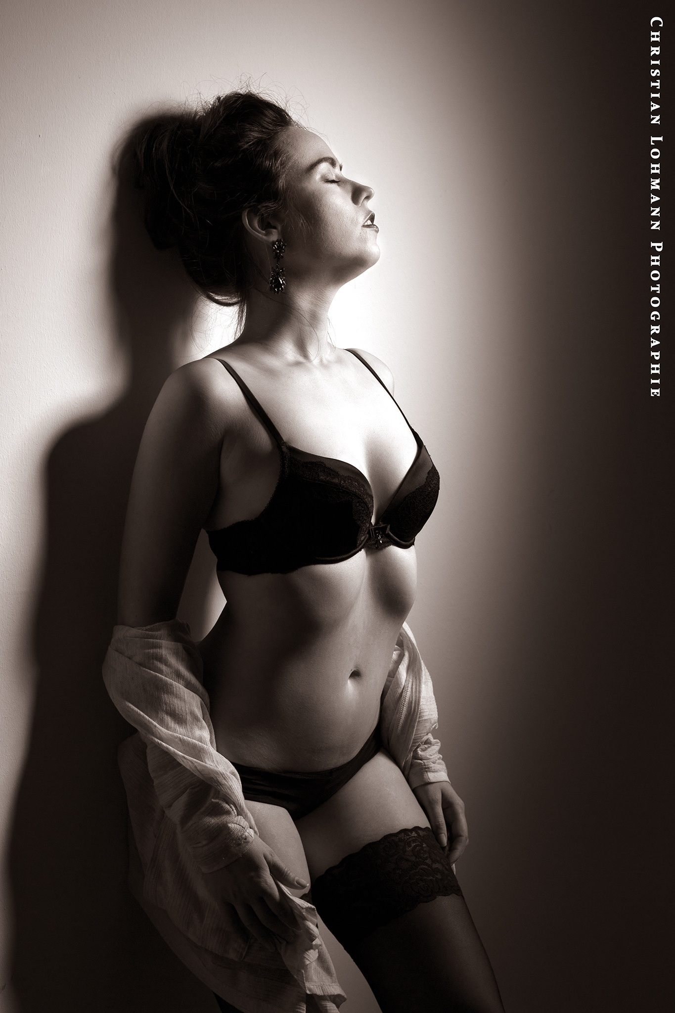 Miss Black and White by Christian Lohmann