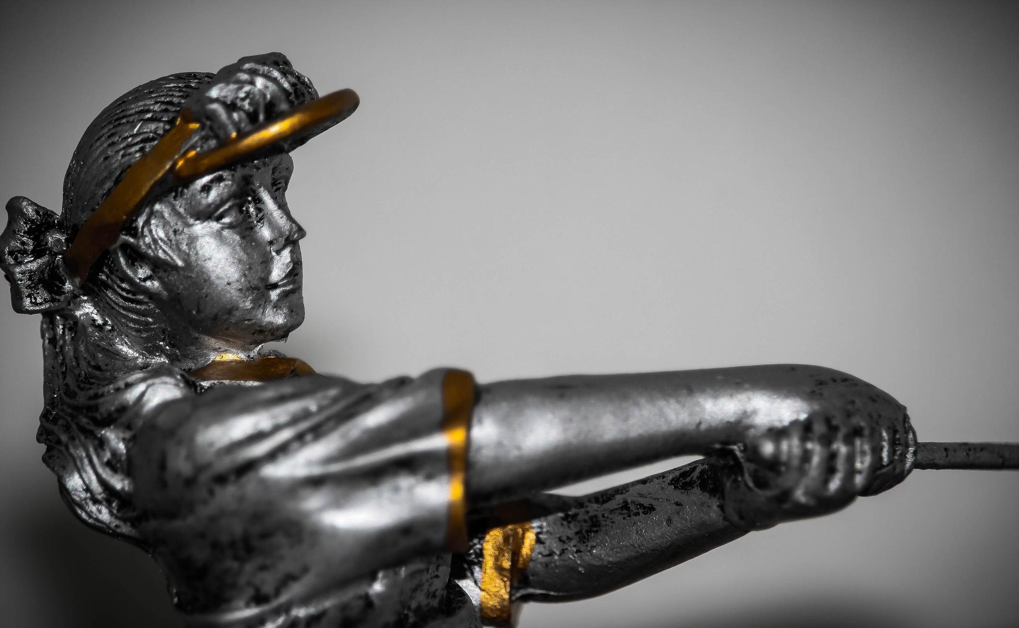 the golfer by rogerkfleharty