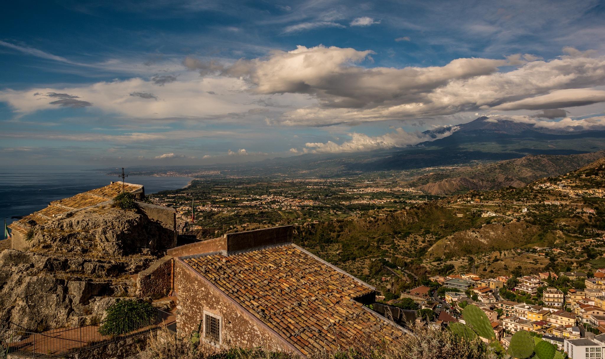 Taormina view by jorgeMatias