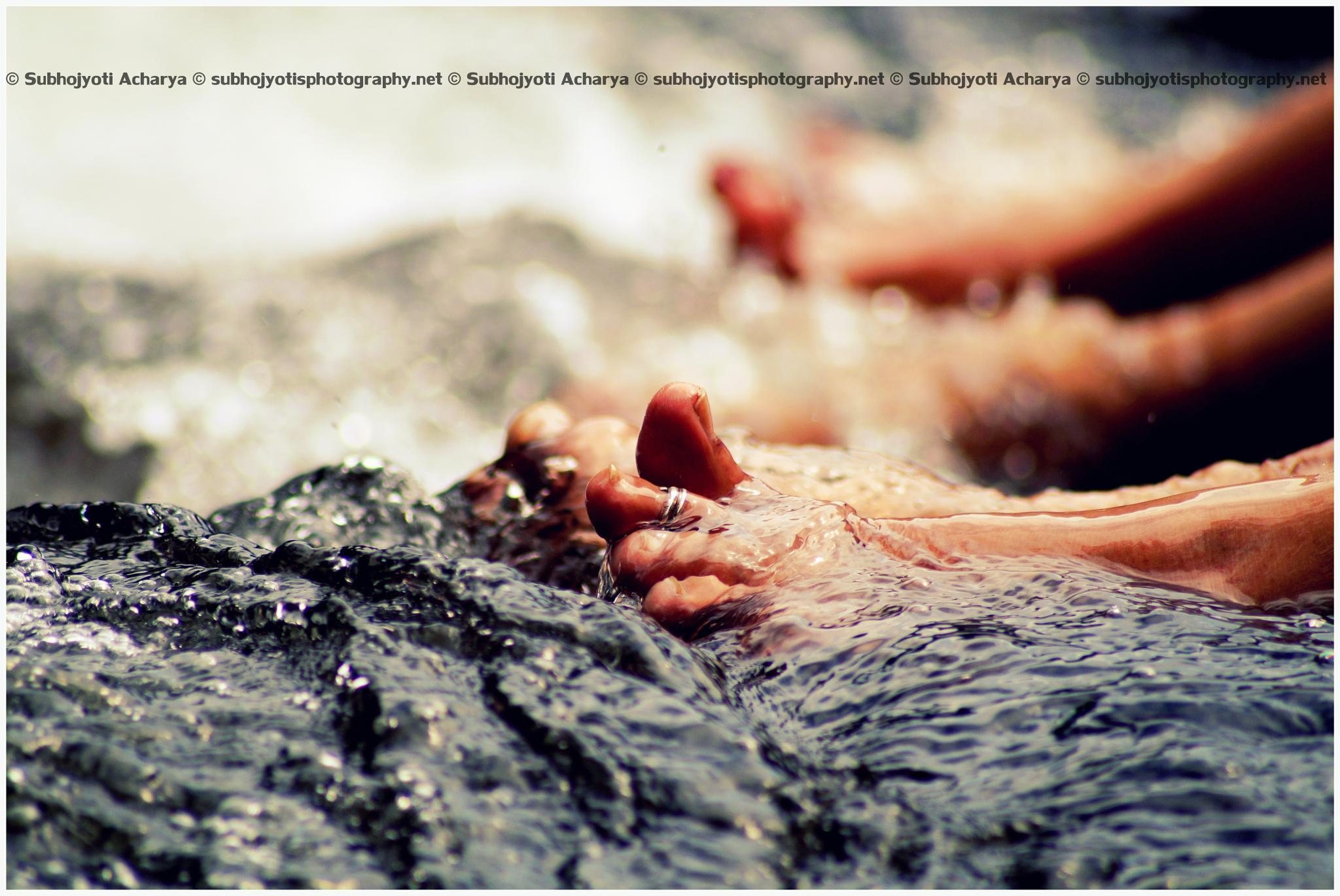 Happy Feet by Subhojyoti Acharya