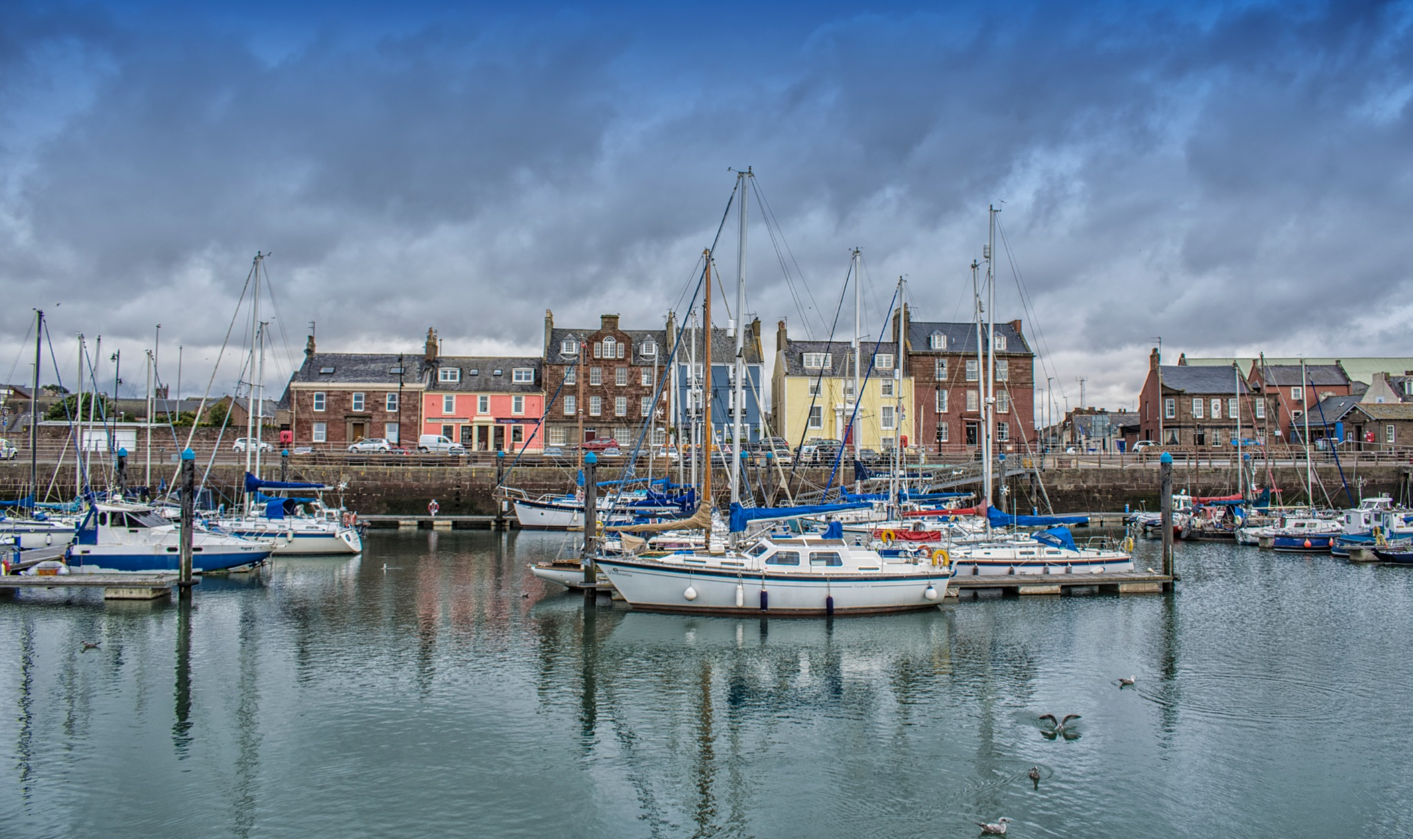 Arbroath Harbour  by Brian Dakers