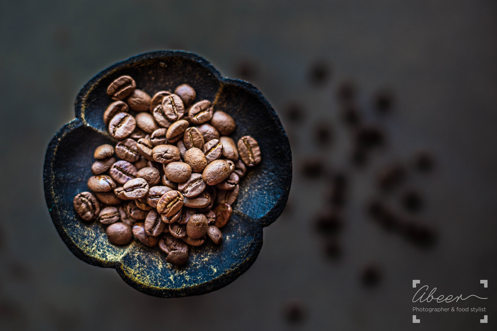 Coffee Beans  by Abeer Steitieh