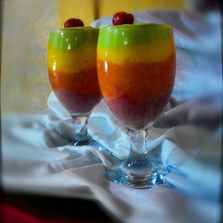 Rainbow Smoothie by Merry Kristine Ferrer