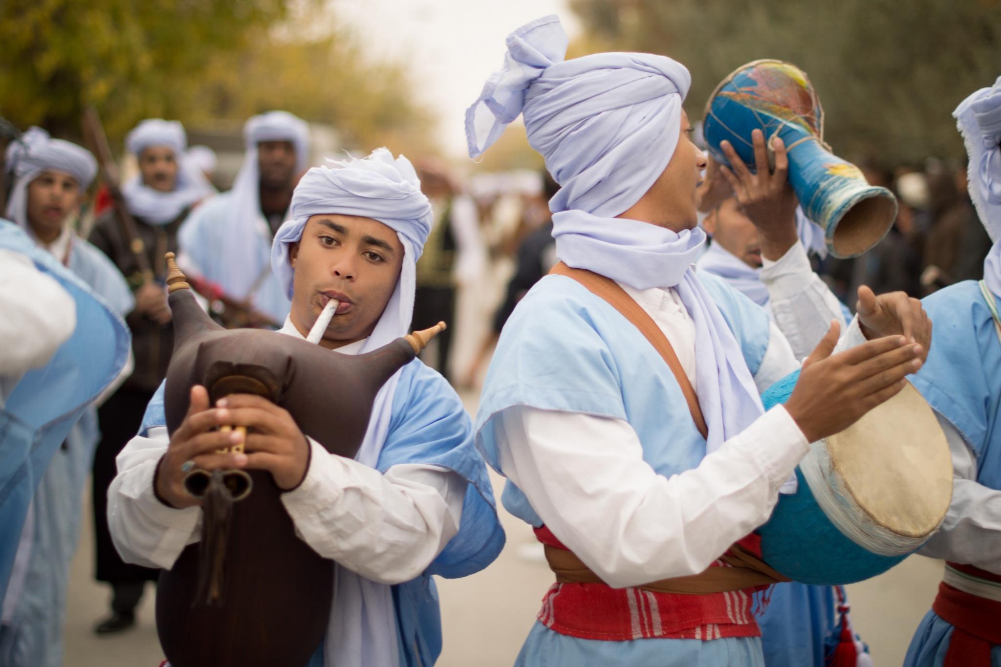 Popular folklore by Bada Zine El Abidine
