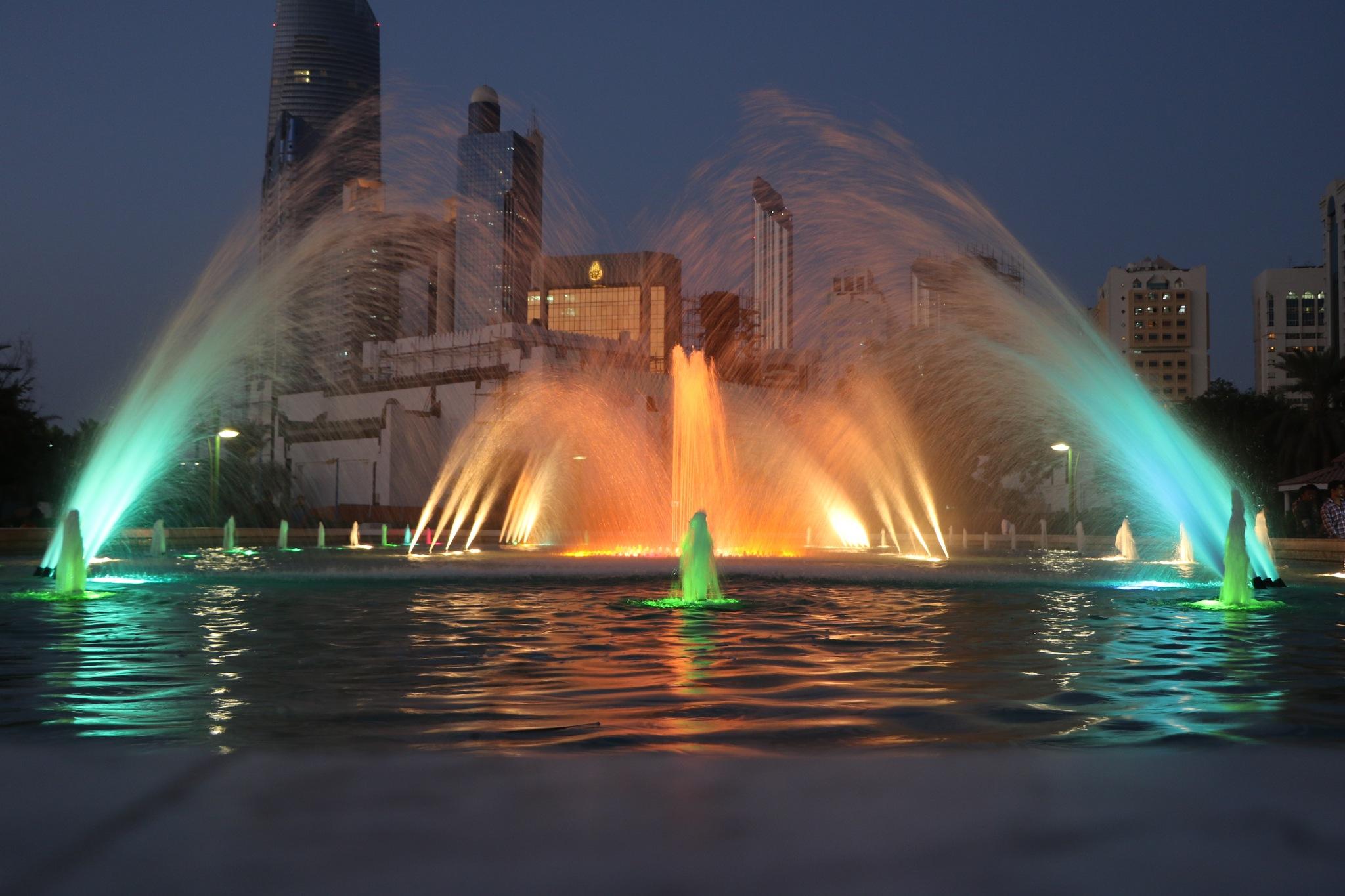 fountain by Zaid Ibrahim