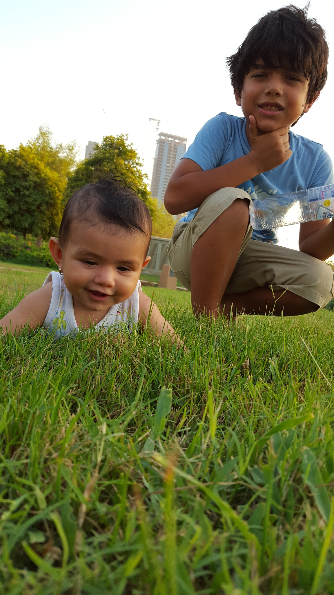 on the grass by Zaid Ibrahim