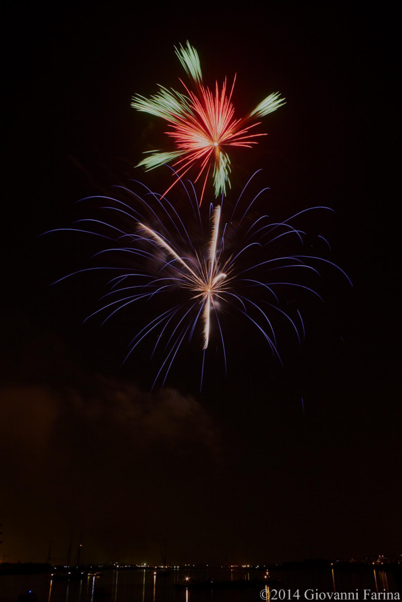 Tall Ship Festival fireworks_05 by Giovanni Farina