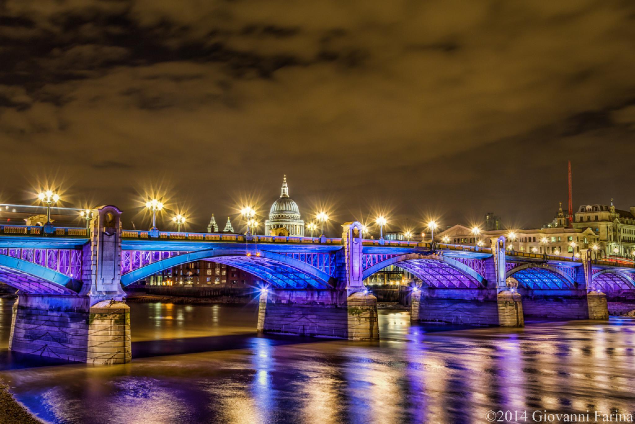 Southwark bridge by Giovanni Farina