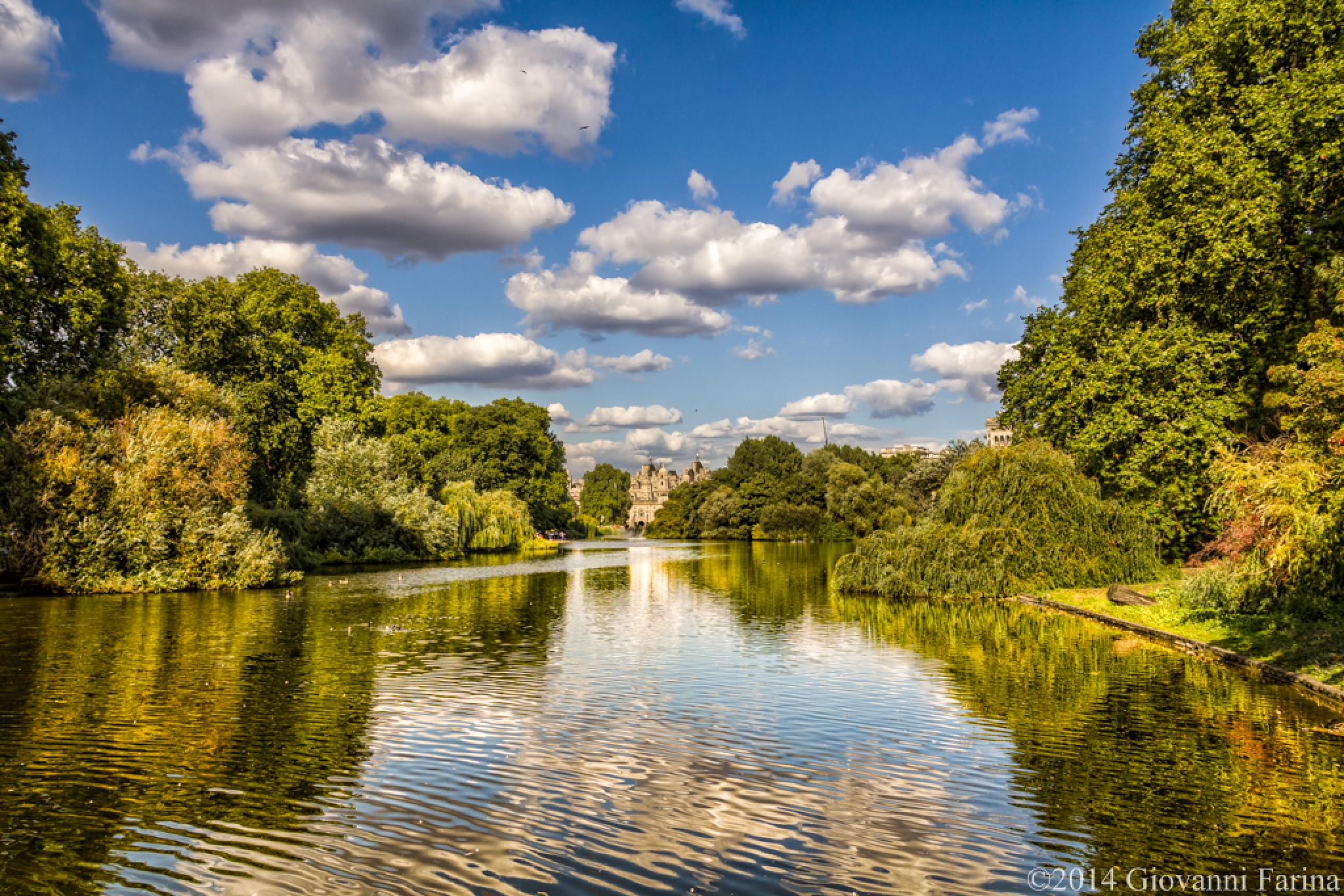 St. James Park by Giovanni Farina