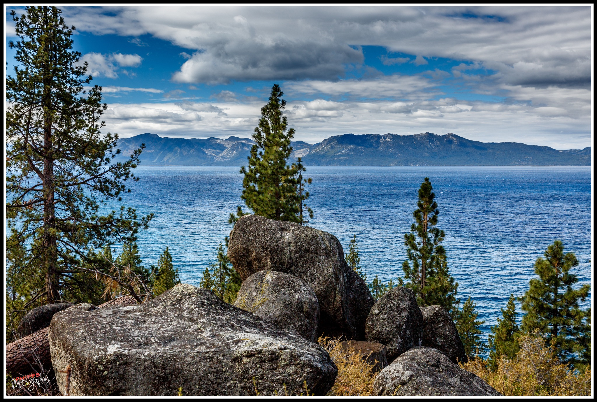 Scenic Lake Tahoe... by PhippsPhotography