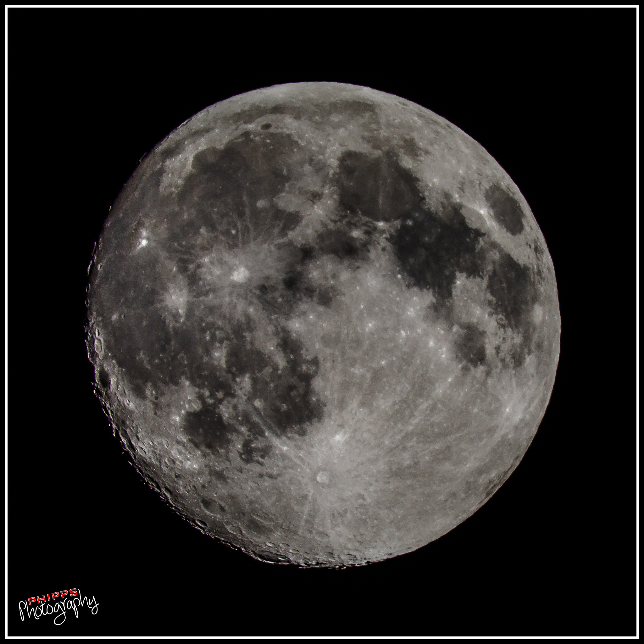Tonight's Moon... by PhippsPhotography