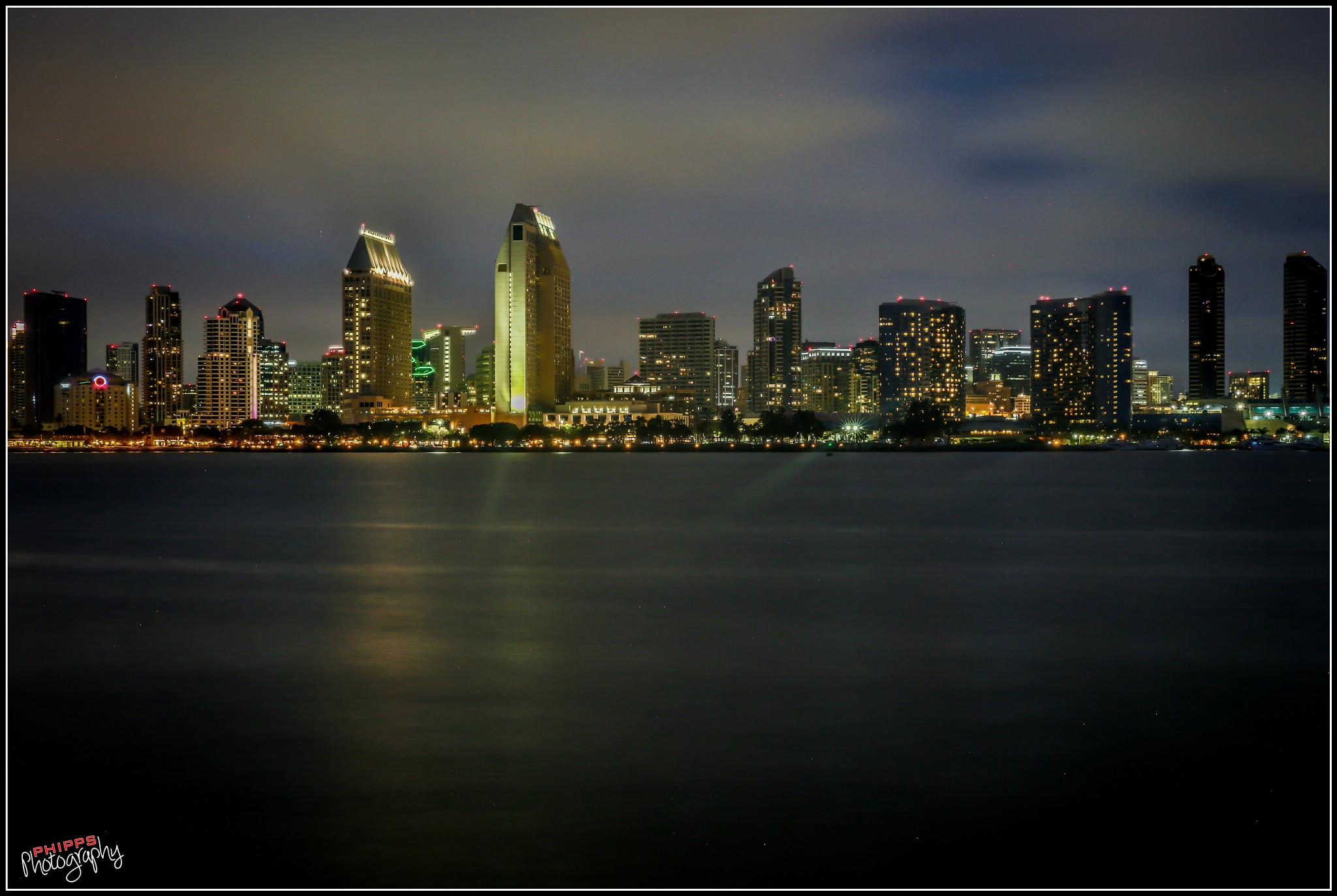 San Diego Harbor, as the Fog Rolls In... by PhippsPhotography