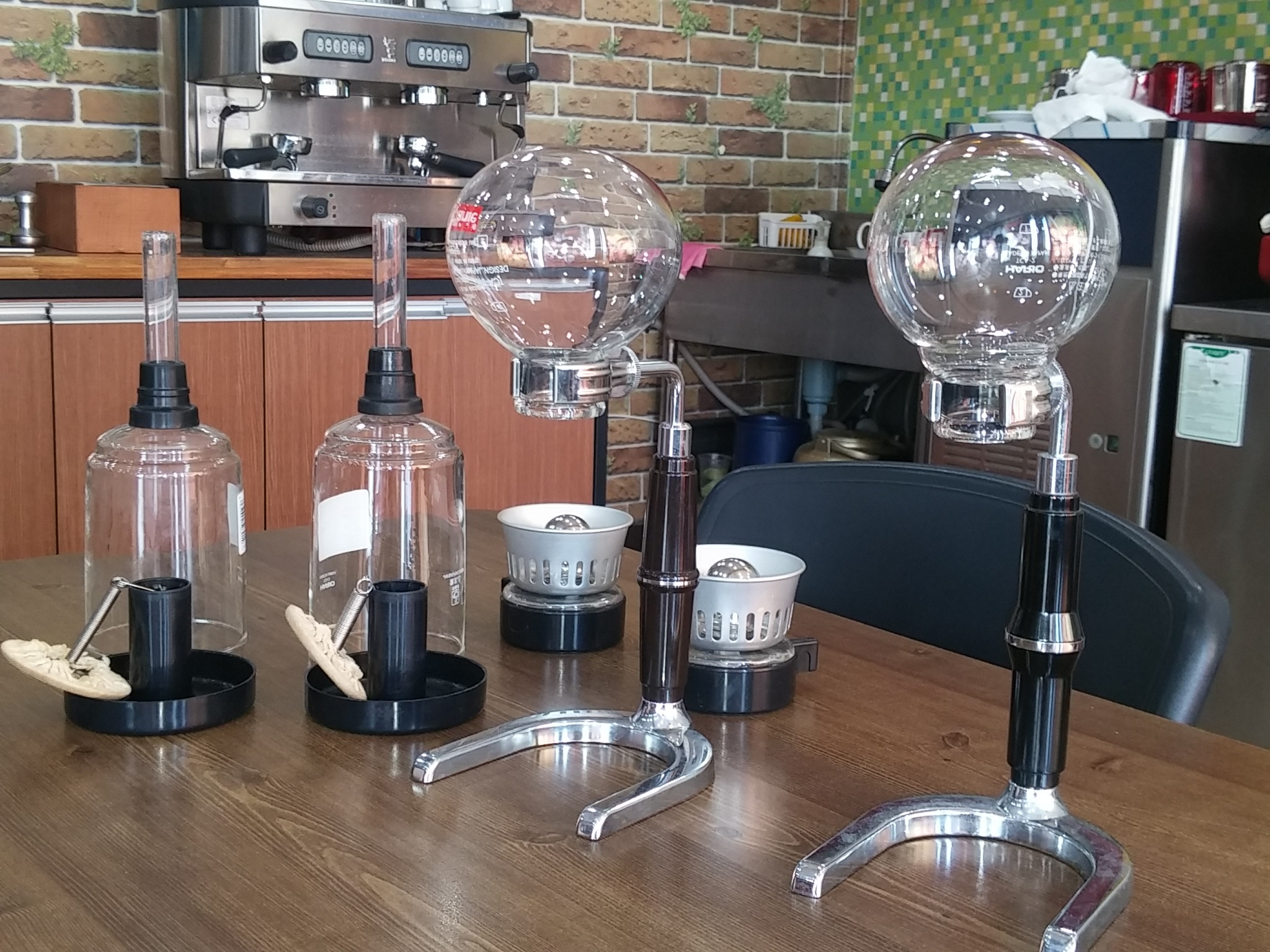Siphon coffee by park seong hyeon