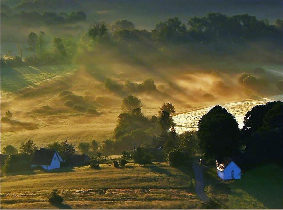 Landscape, morning... by Gabriella