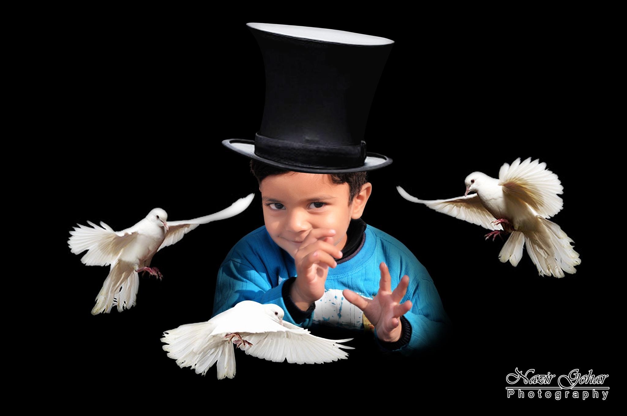 The Little Magician by Nazir Gohar