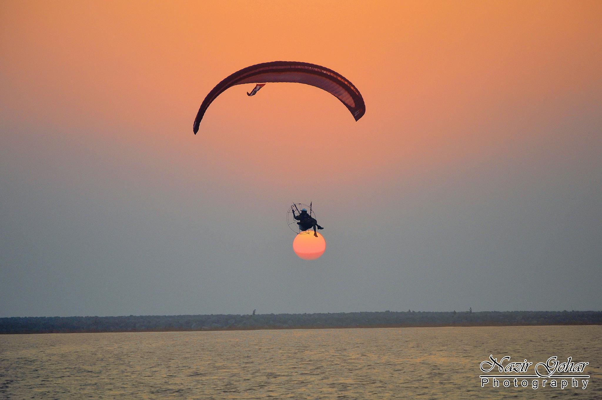 Fly Into The Sun by Nazir Gohar