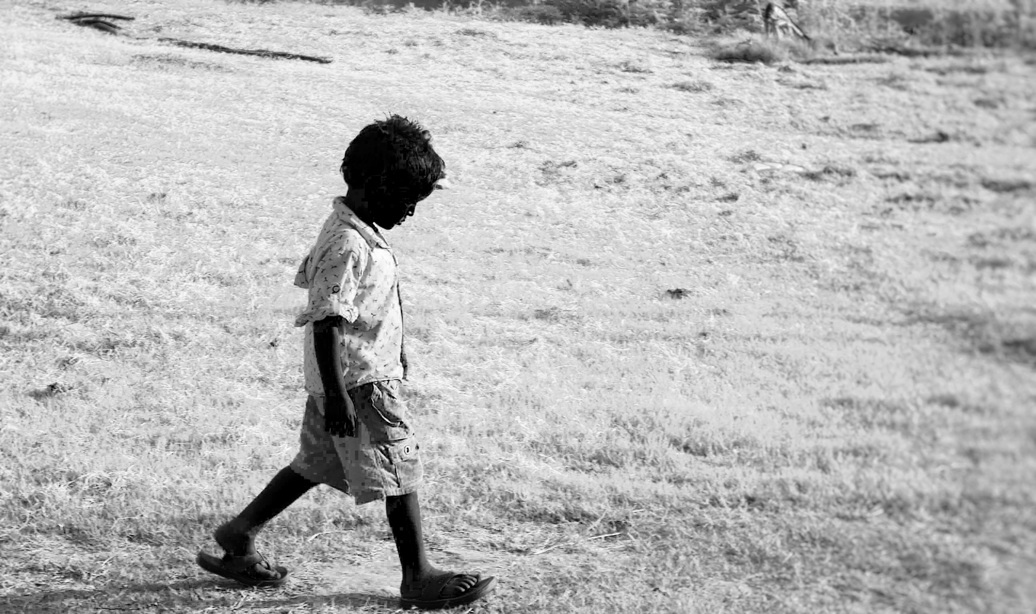 The sad child by Mohit_kumarofficial