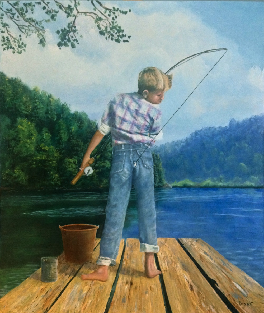 """""""Catch of the Day"""" by Les Bryant 2017 by LesBryant2"""
