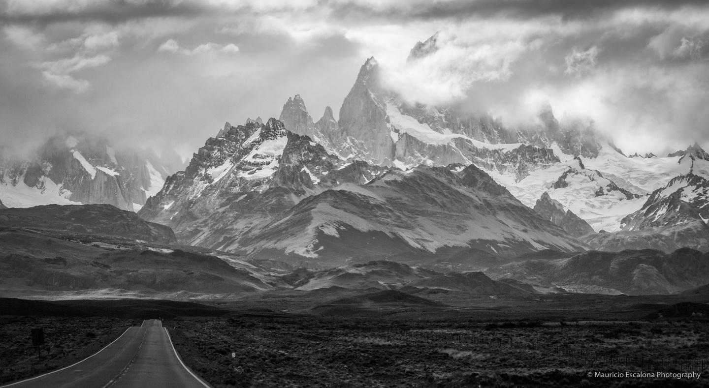 Lonely Road (El Chaltén) by Mauricio Escalona