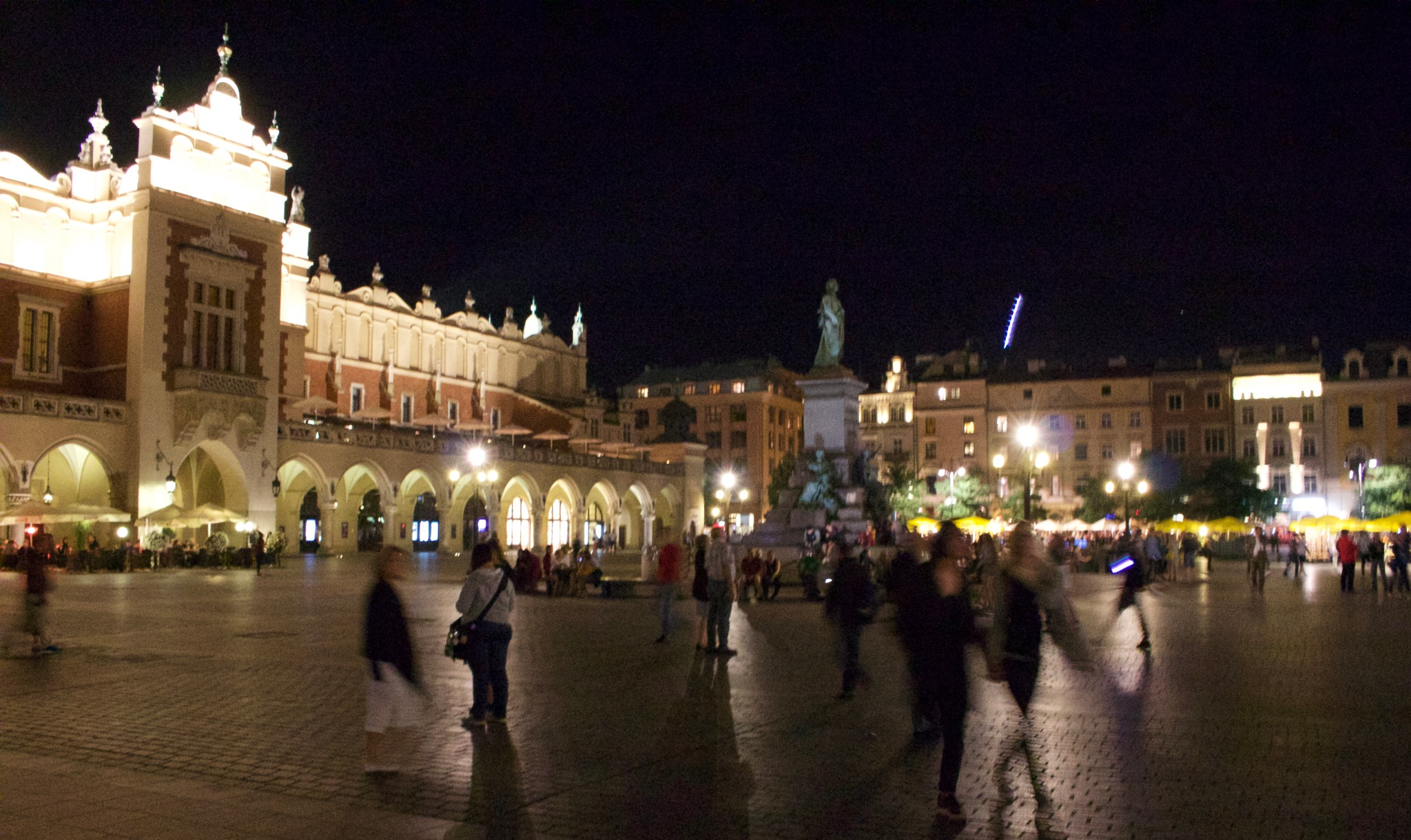 Cloth Hall Krakow by night. by Mark_silvester