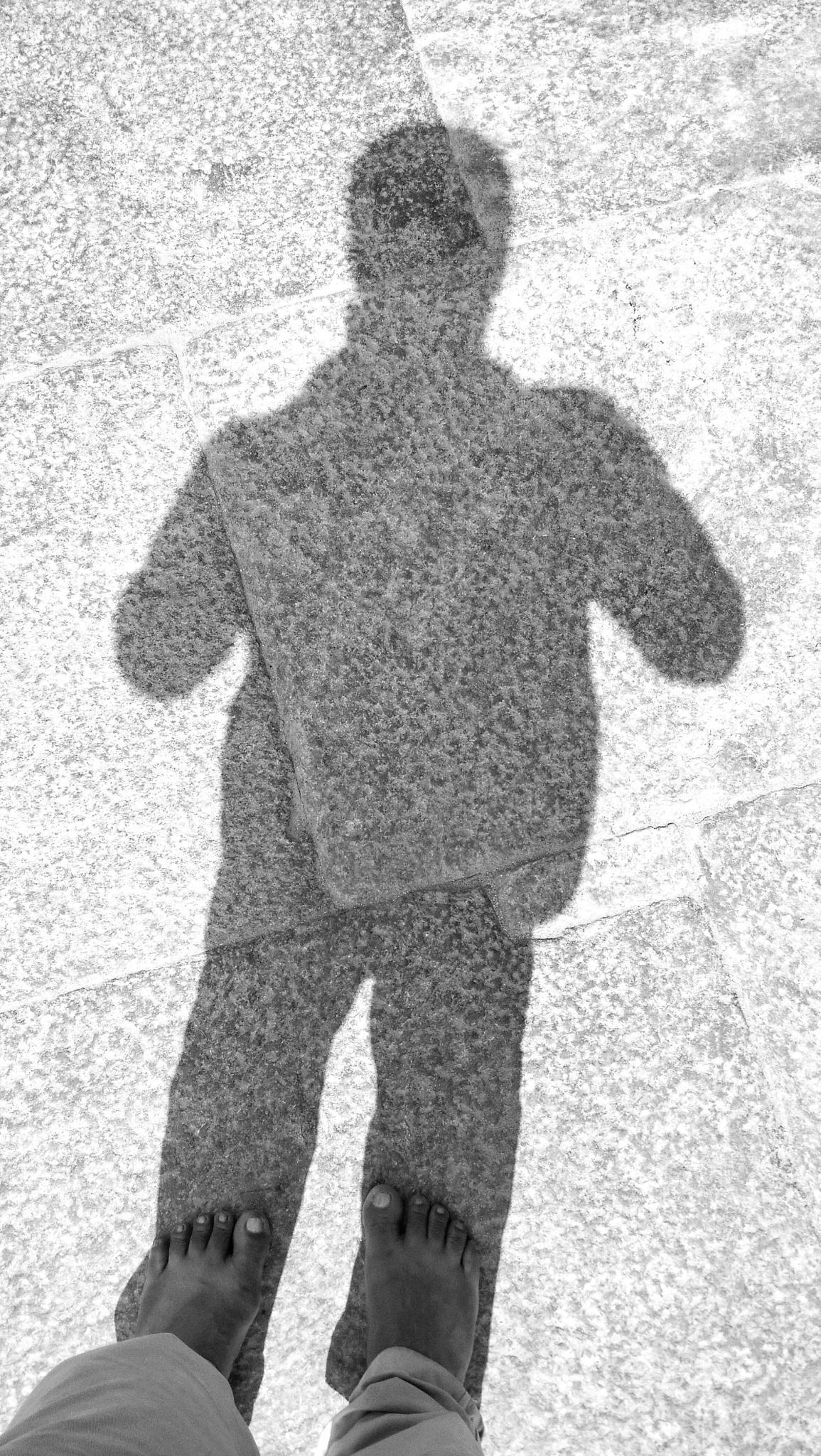 My shadow in my art! by Prem Swarup