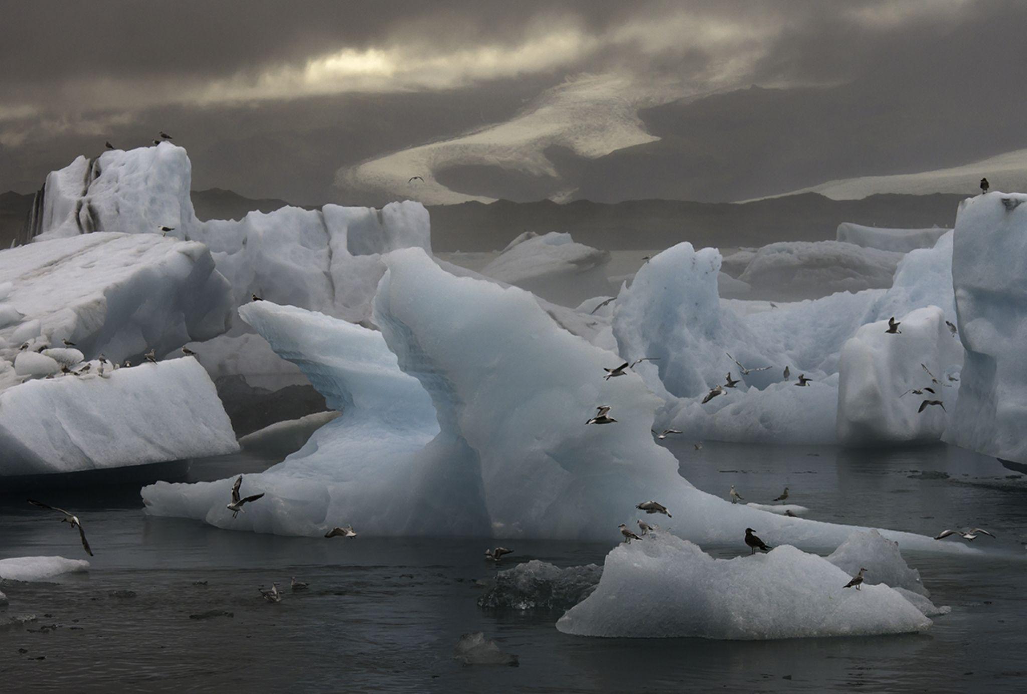 Glacier Lagoon by EbbaTorsteinsen Jenssen