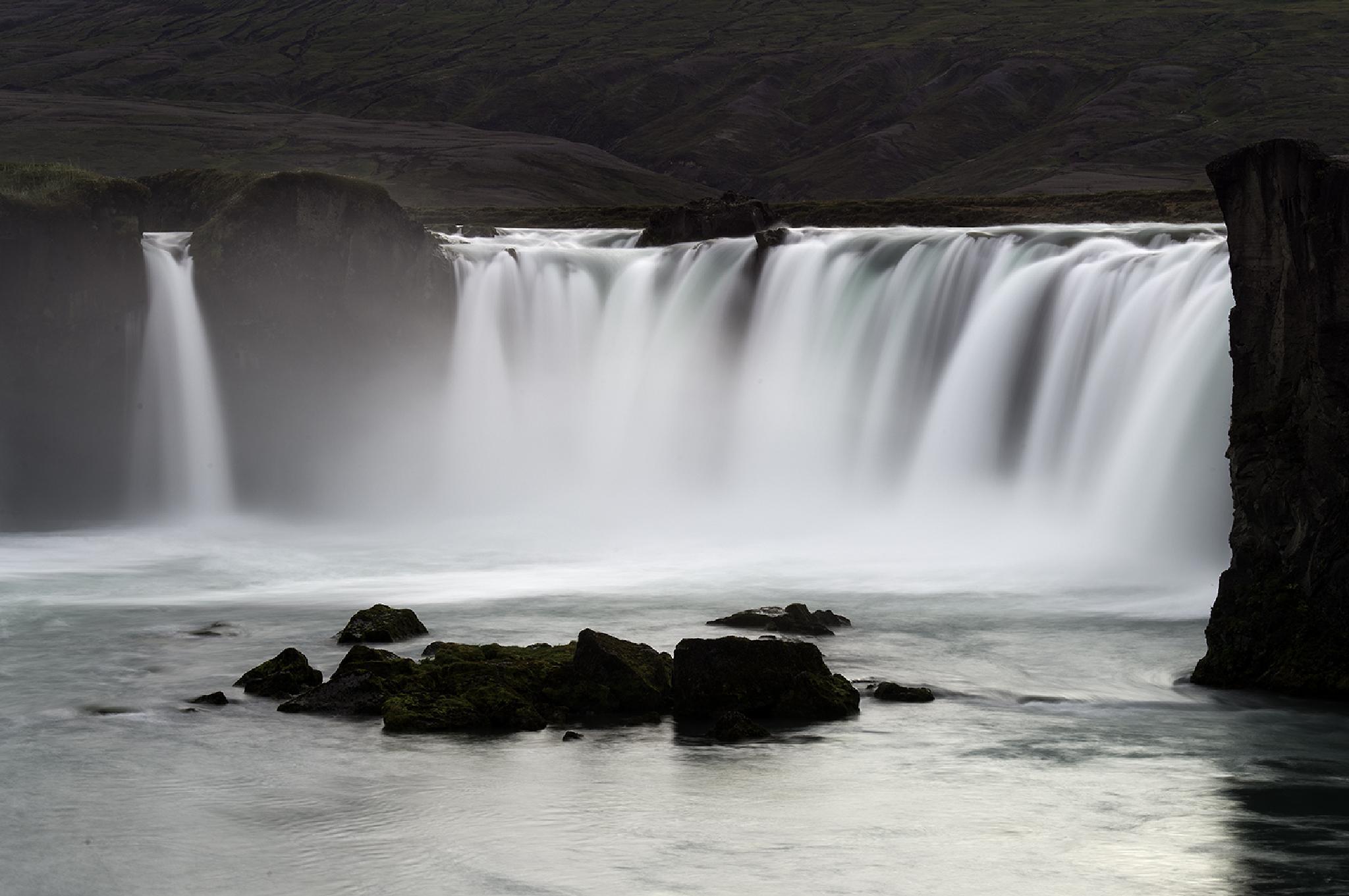Goðafoss, Iceland by EbbaTorsteinsen Jenssen