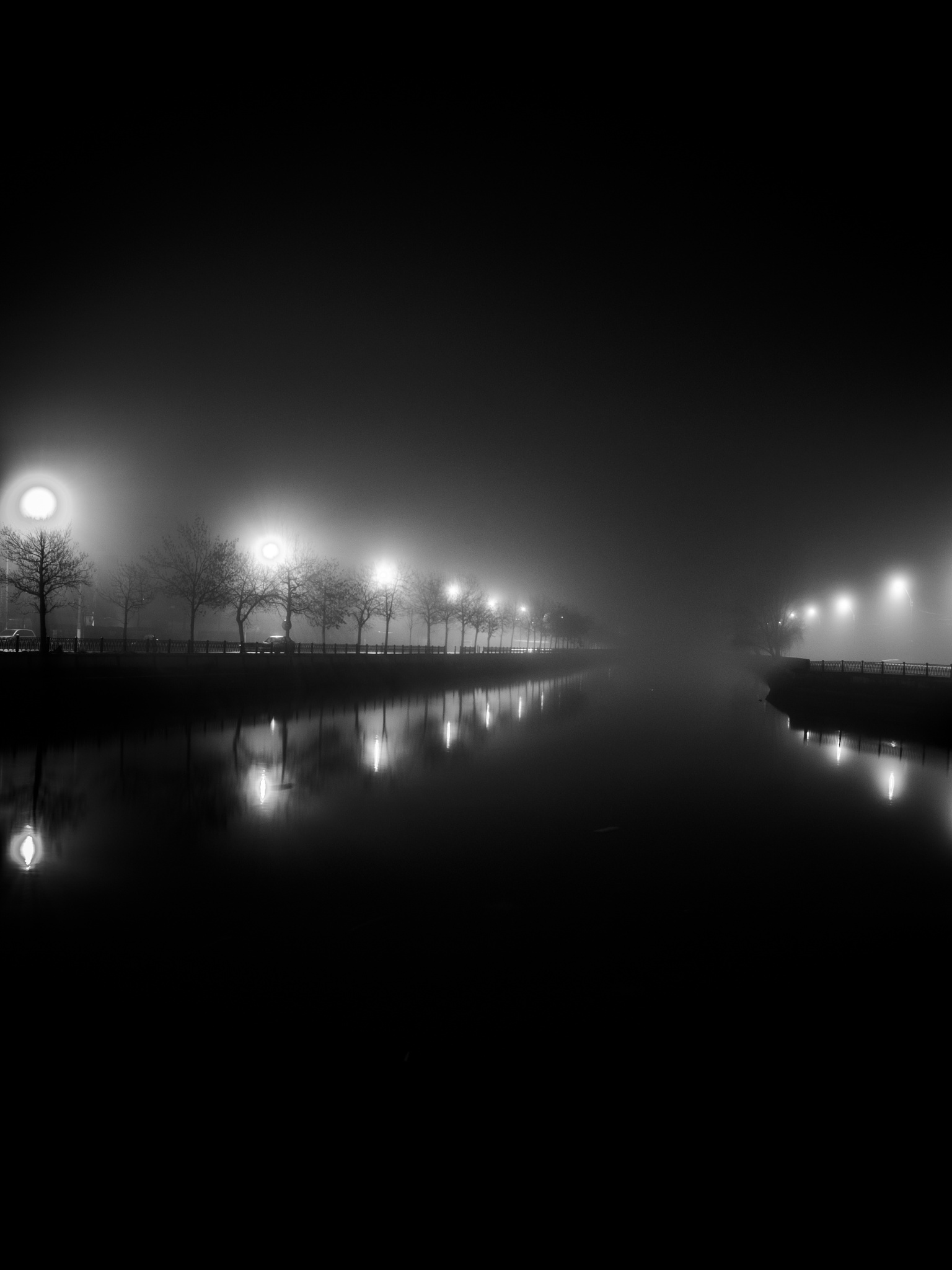 Into the darkness by George Enciu