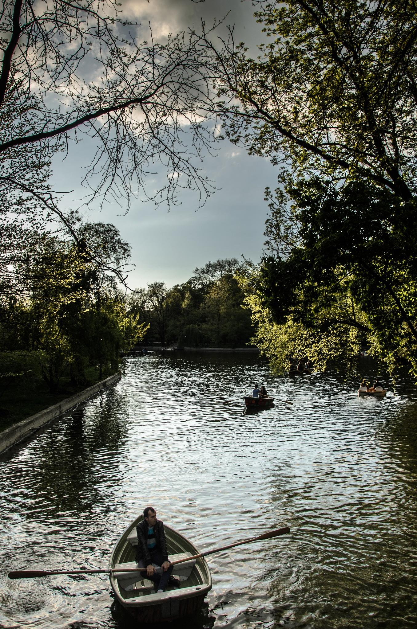 Weekend in the park by George Enciu