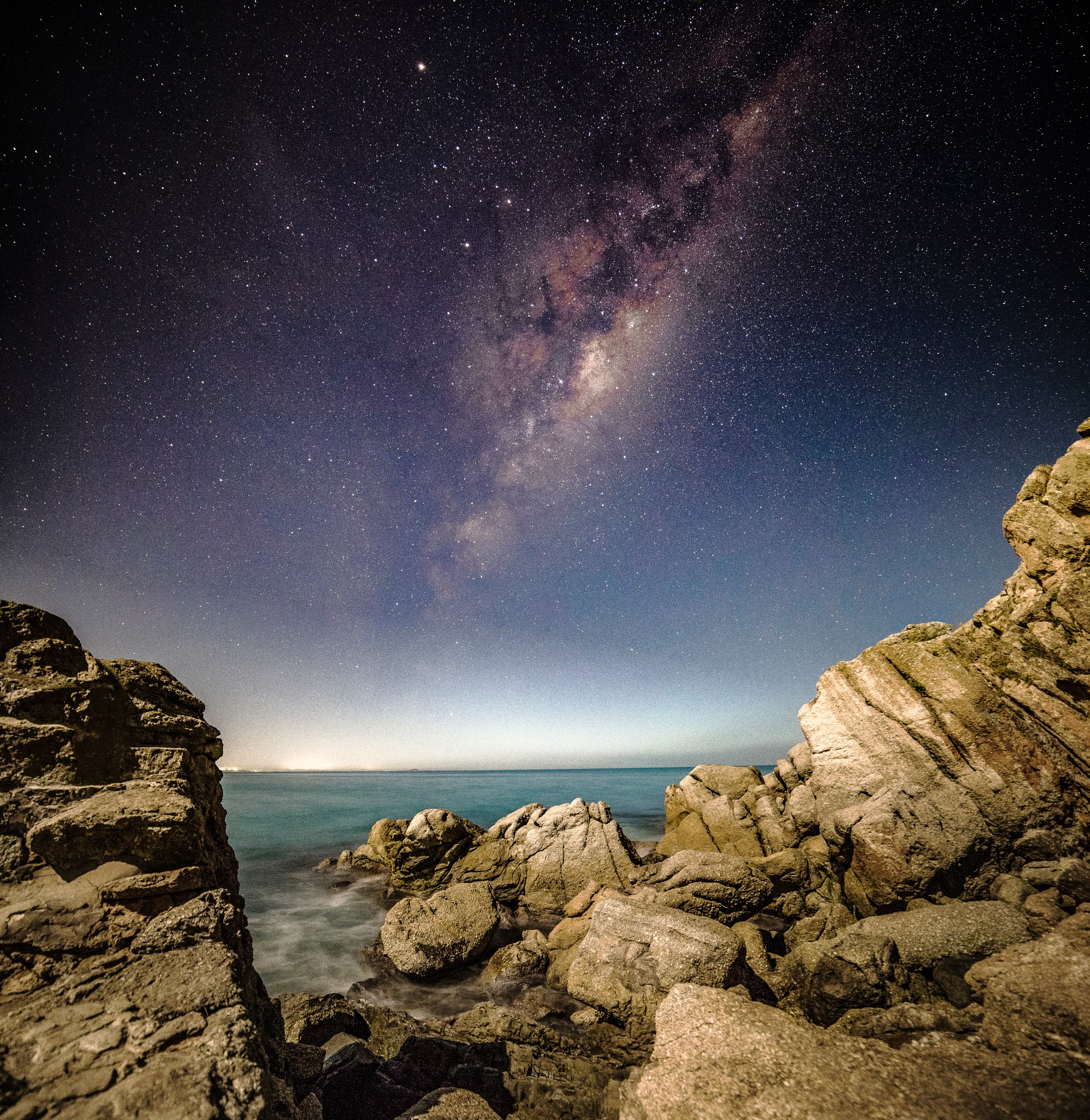 Milkyway at the Bluff  by Nicole Rix