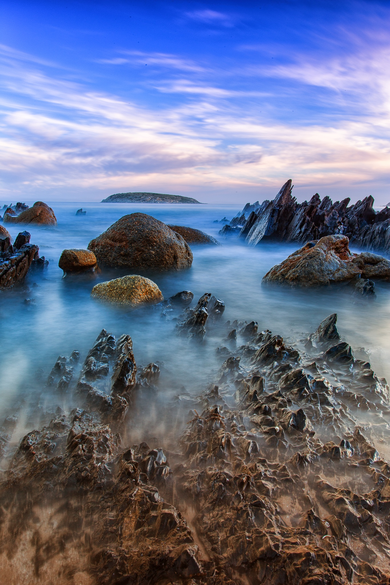 smooth waves by Nicole Rix