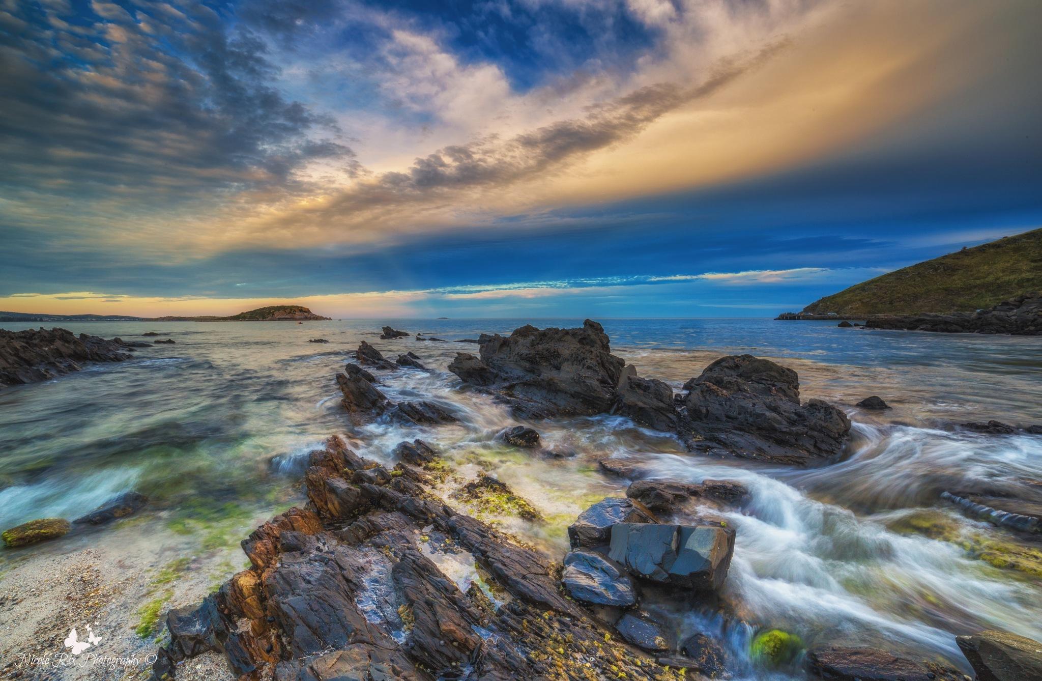 Encounter Bay view by Nicole Rix
