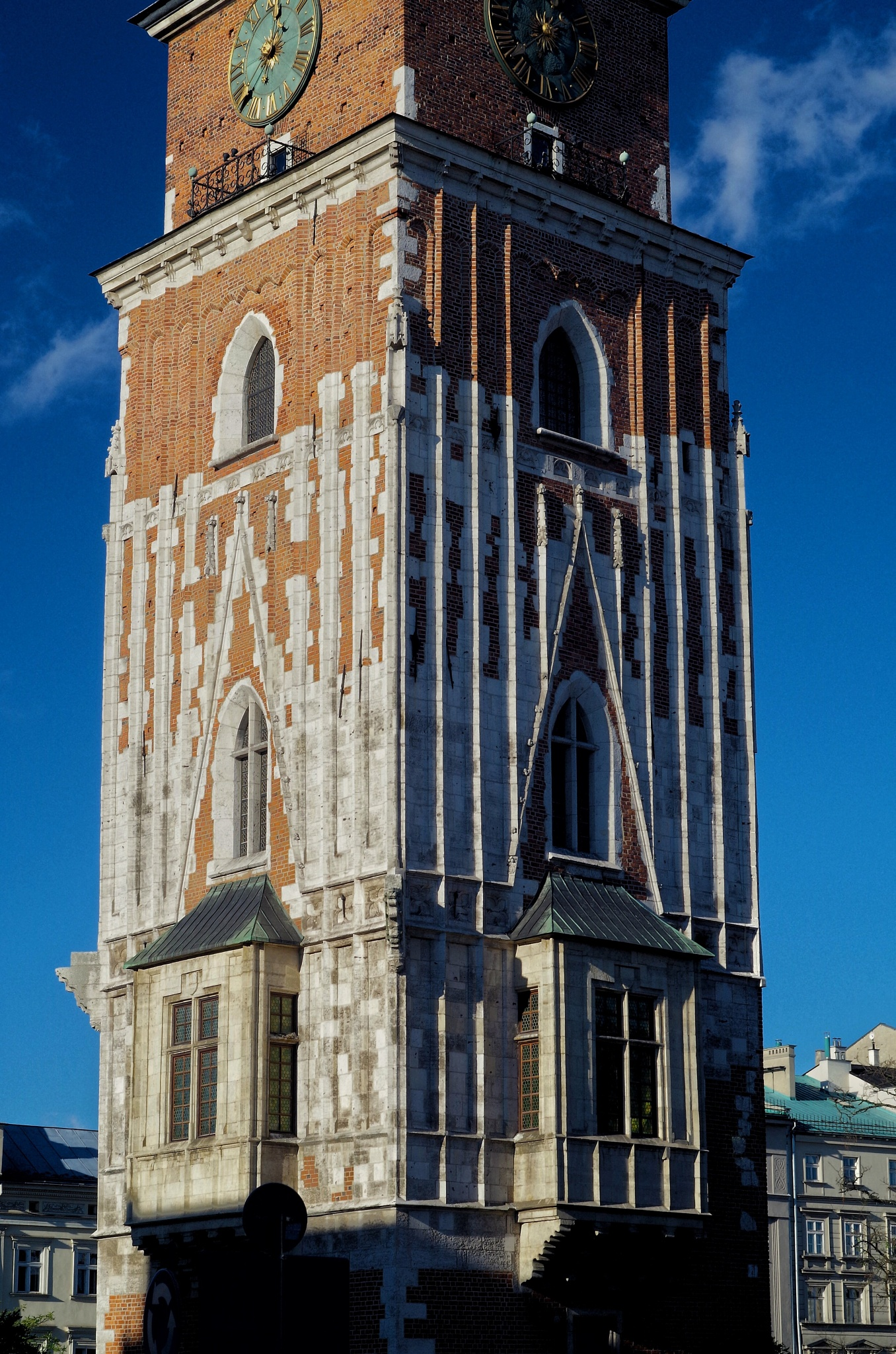 City Hall Tower in Cracow  by Paweł