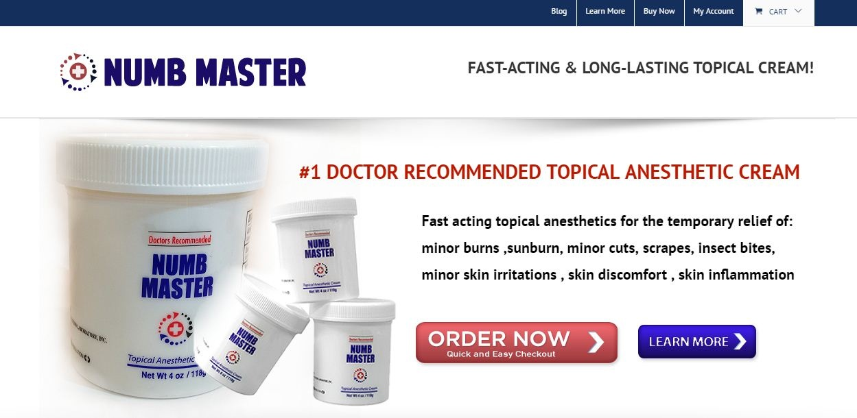Topical Numbing Cream by bmnumbmaster