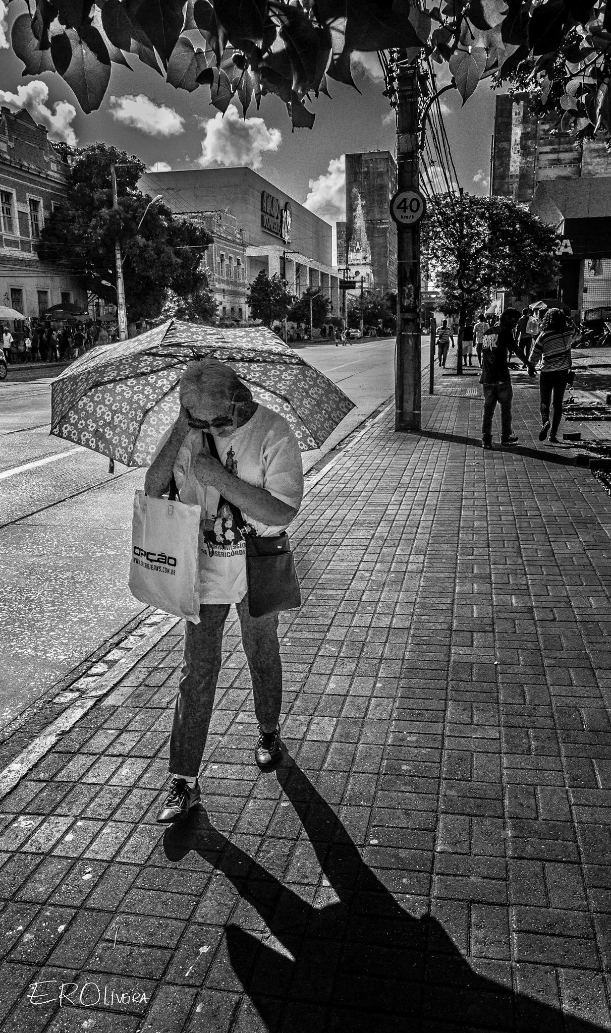 Human Sundial by EROliveira