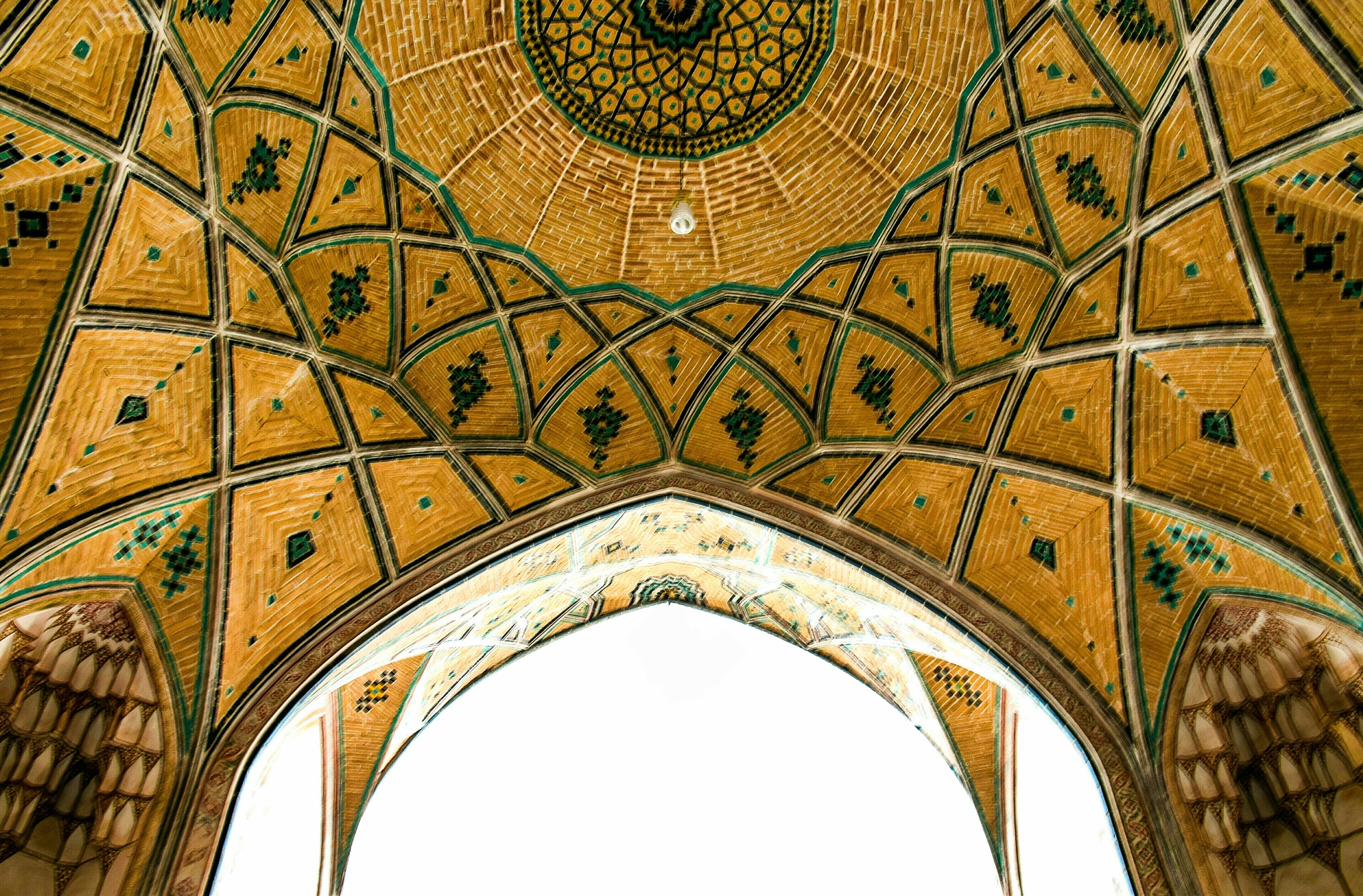 kashan moschee by hamid jamali