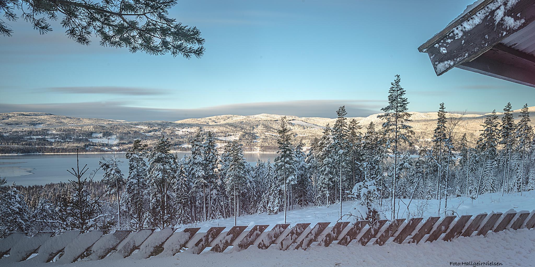 Cold Feberuar morning by Hallgeir Nielsen