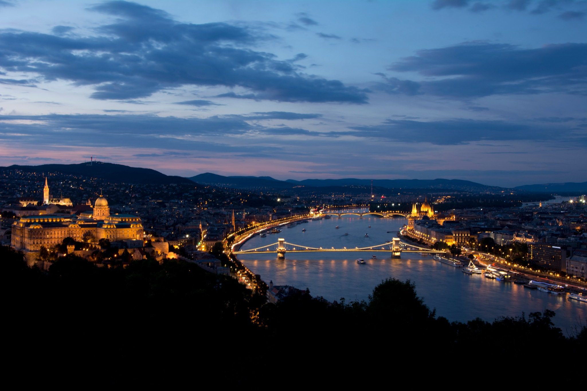 Budapest in blue by xDaNieL