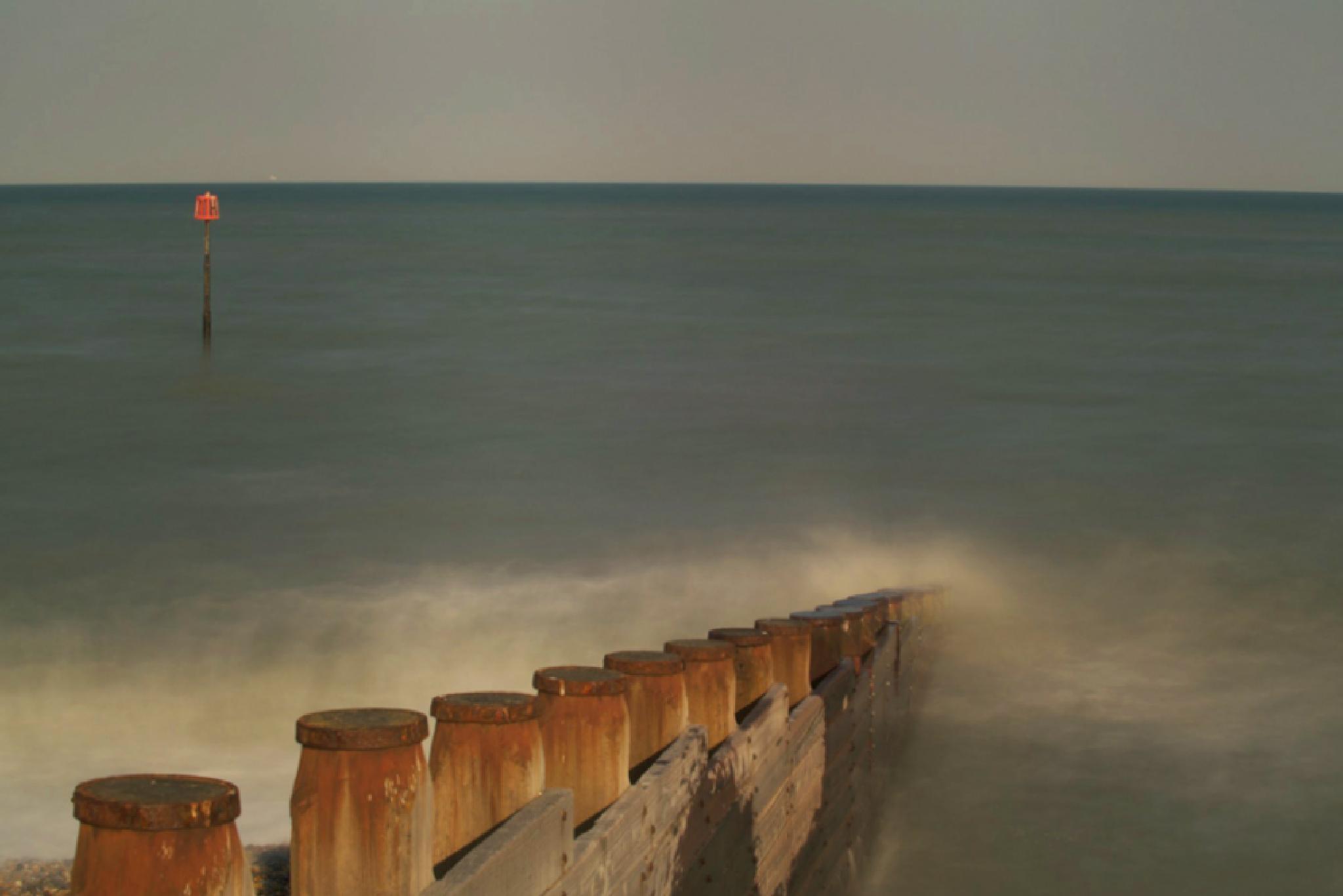 Eastbourne Beach by tcbenneyworth