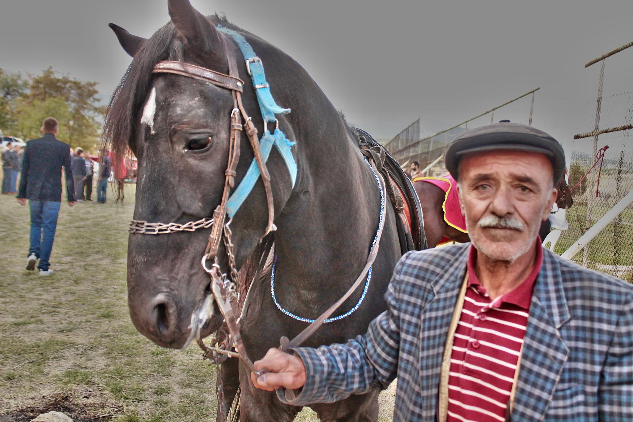 Horse and owner by Ayberk SOYLU