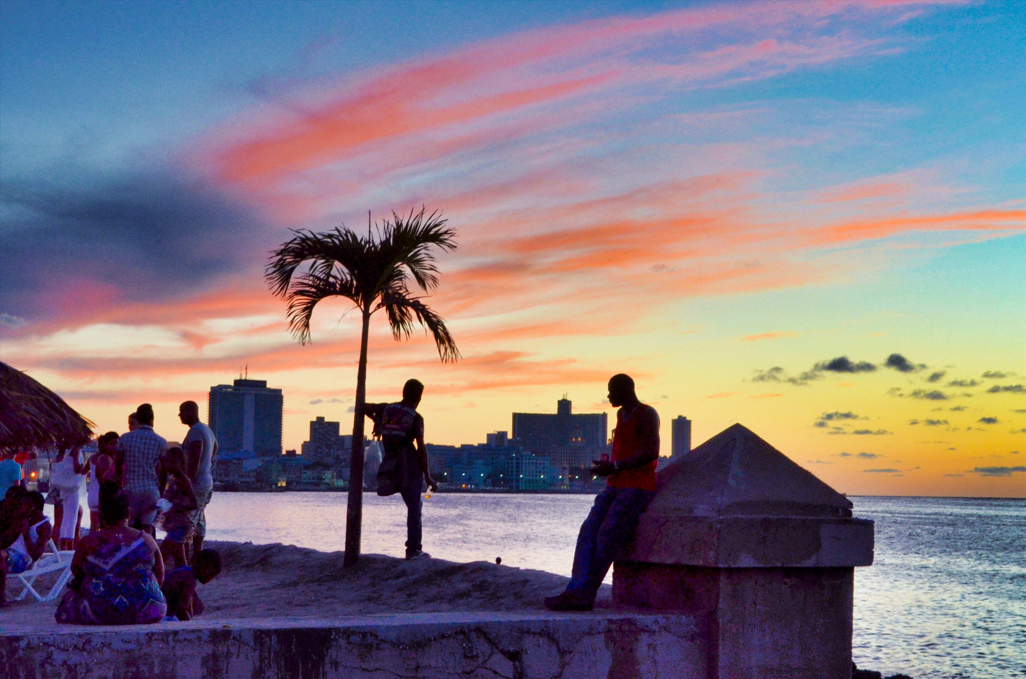 End of the day in Havana by Harrison Hanville