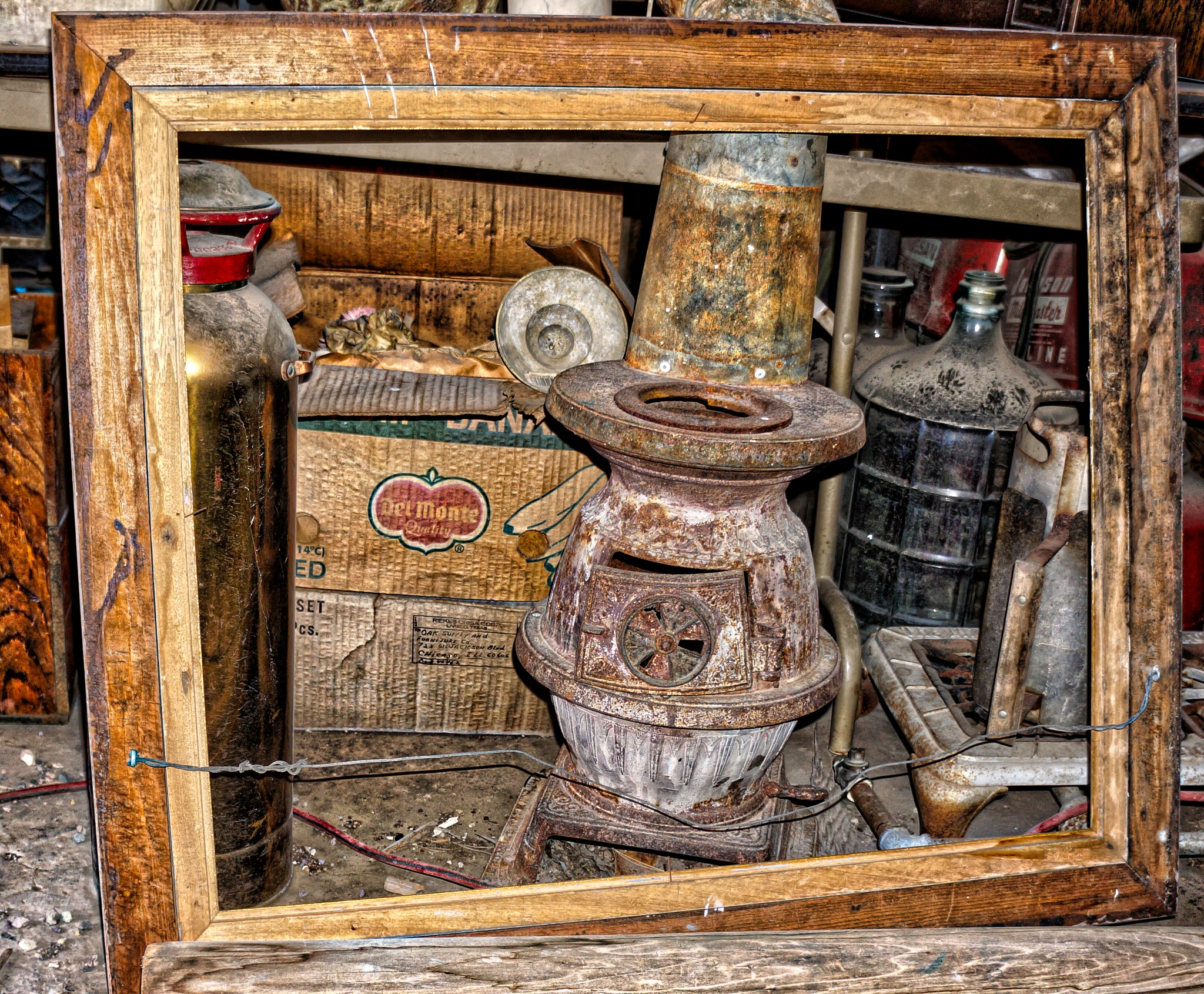 Olde Wood Stove by Harrison Hanville
