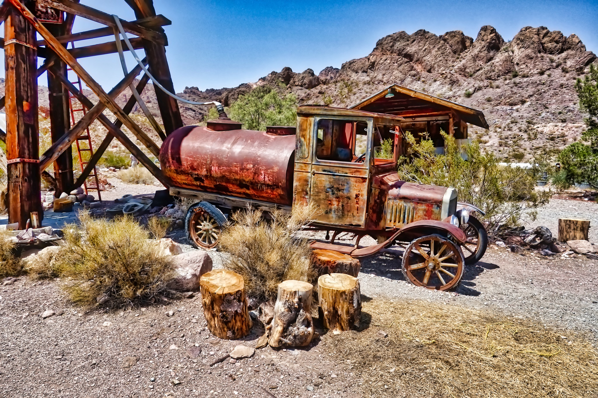 Ford Water Truck by Harrison Hanville