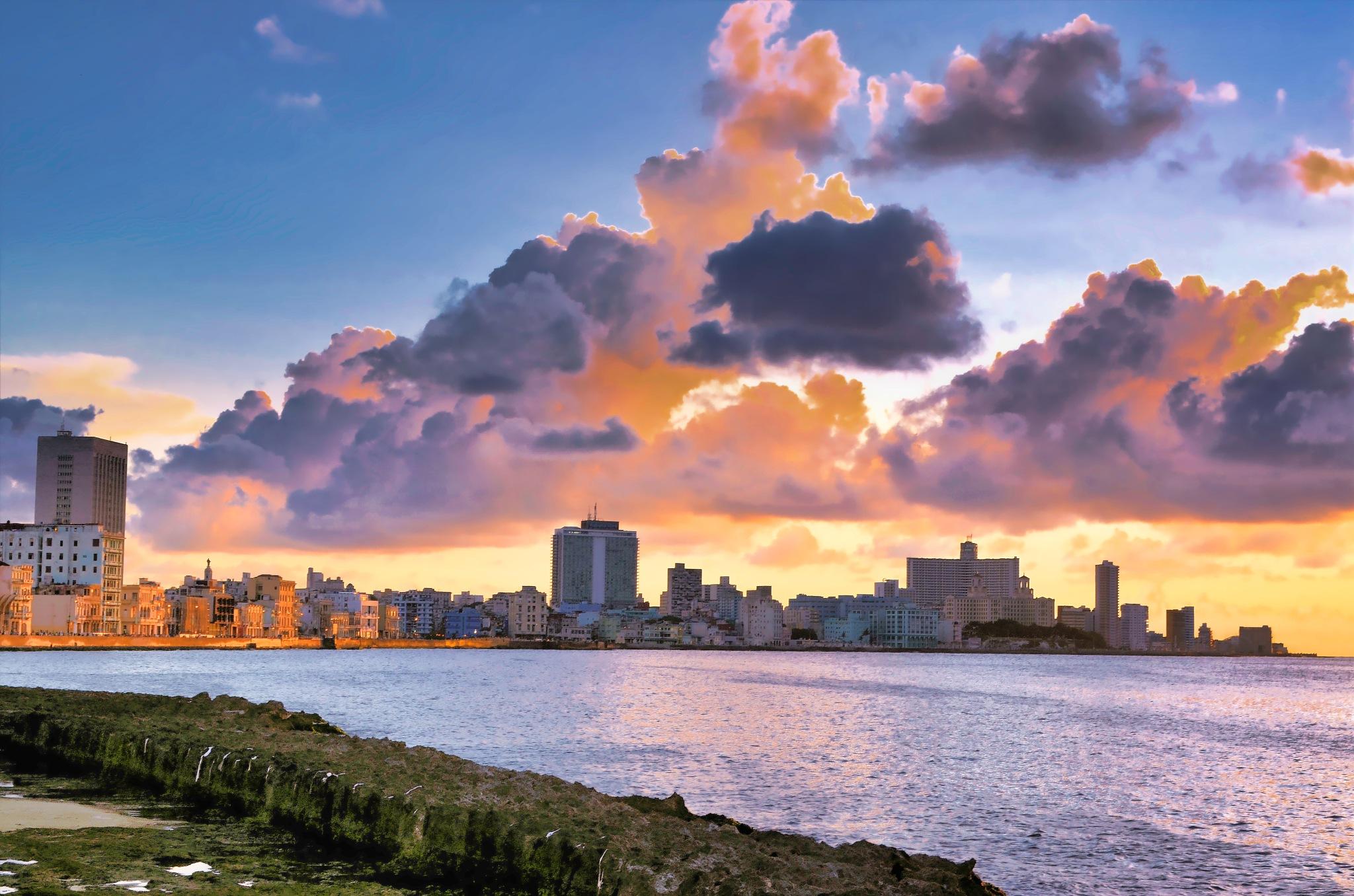 Havana at Sundown by Harrison Hanville