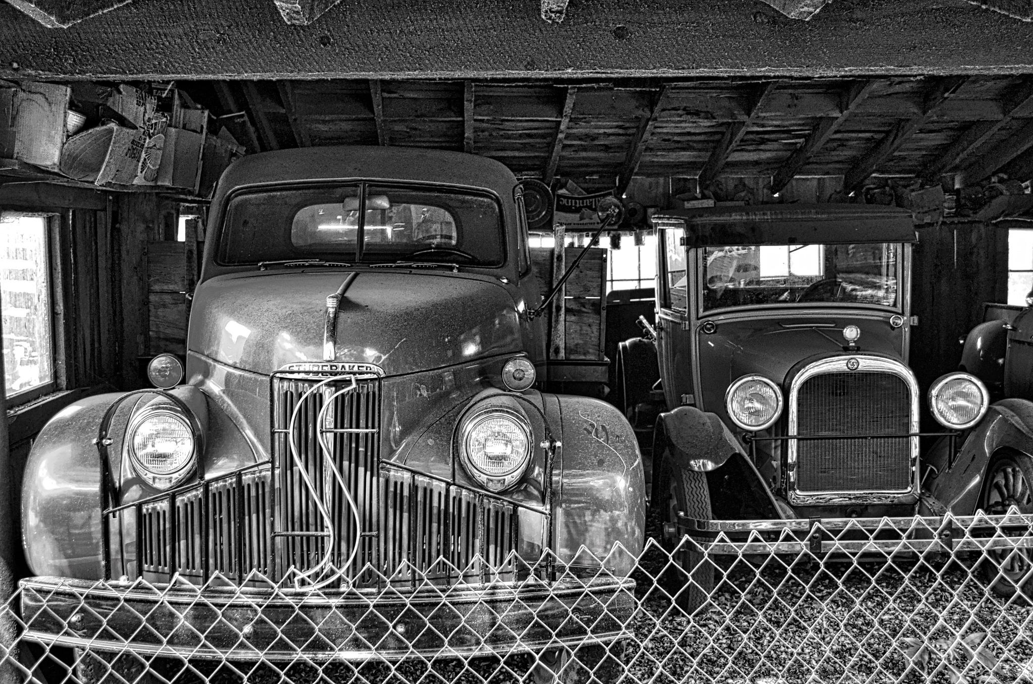 In An Open Face Garage by Harrison Hanville